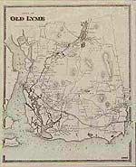 Vintage Maps Of Connecticut Counties For Genealogy - Old map reproductions