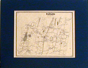 1867 Map of Pawling, Dutchess County, New York
